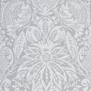 Mitford Damask 312864 Empire Grey