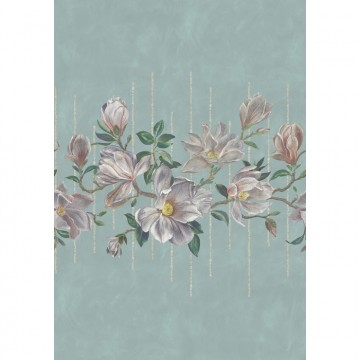 Magnolia Frieze w7338-02