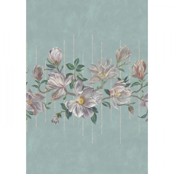 Magnolia Frieze w7338-02