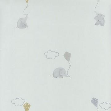 MLW29736317 ELEPHANTS BLEU