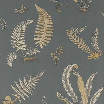 Ferns Charcoal Bronze BW45044.6