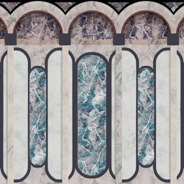 Archs Mural 8605003