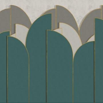 Pavilion Mural 8602001
