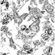 Skull Roses 104560