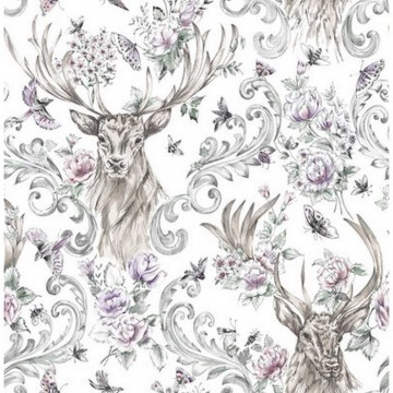 Stag Floral 104551