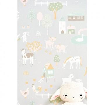 My Farm Soft Grey 127-01
