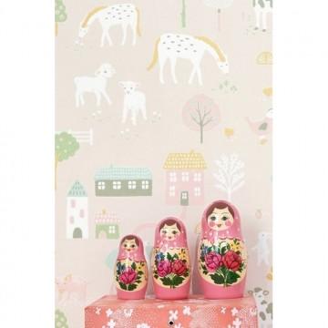 My Farm Soft Pink 127-03