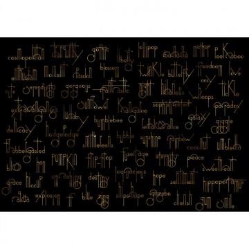 Mural Beautiful Words - Onyx 8000038