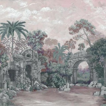 Mural Colonial Pink 8800102