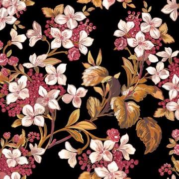 Flowery Black 8800043