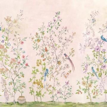 Mural Tea Garden Pink 8800122