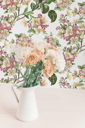 Flowery Beige 8800041