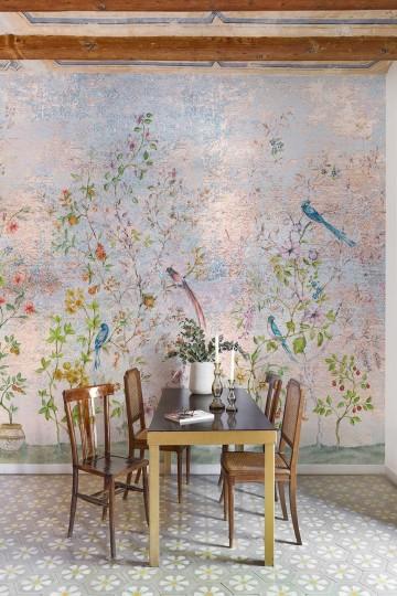 Mural Tea Garden Green 8800121