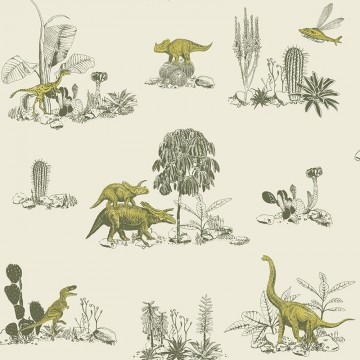Classic Dino Wallpaper Magnetic