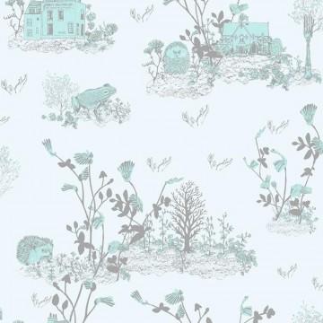 Classic Woodlands Blue