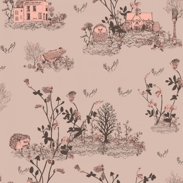 Classic Woodlands Brown-Pink