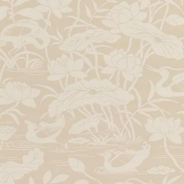 Heron & Lotus Flower Stone BW450892