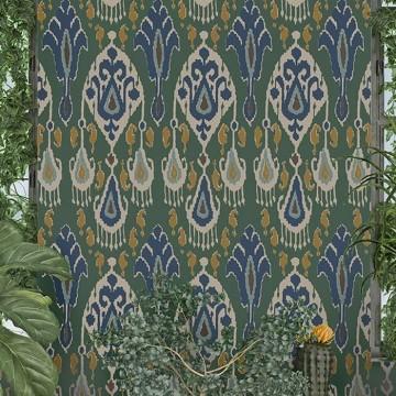 Ikat Bokhara Emerald BW450903