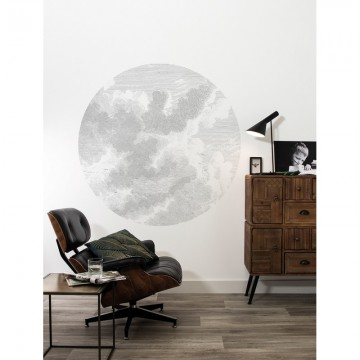SC-058 Wallpaper Circle Engraved Clouds