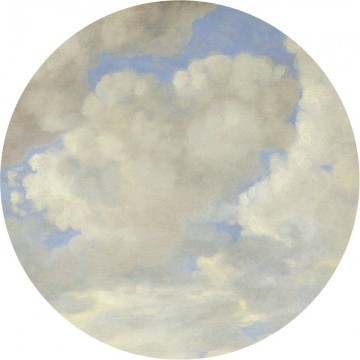 BC-080 Wallpaper Circle XL Golden Age Clouds