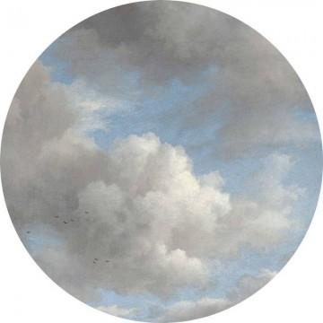 CK-007 Wallpaper Circle Golden Age Clouds