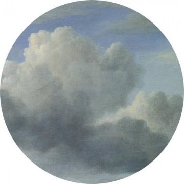 CK-008 Wallpaper Circle Golden Age Clouds