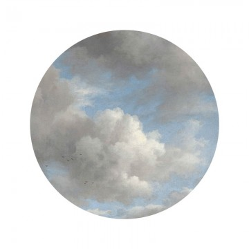 SC-007 Wallpaper Circle Golden Age Clouds
