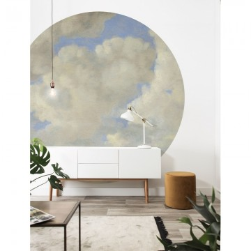 BC-080 Wallpaper Circle XL Golden Age Clouds