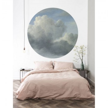 CK-008 Wallpaper Circle Golden Age Clouds
