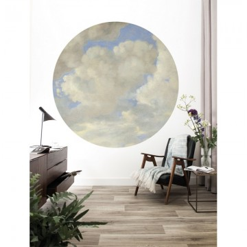 CK-080 Wallpaper Circle Golden Age Clouds