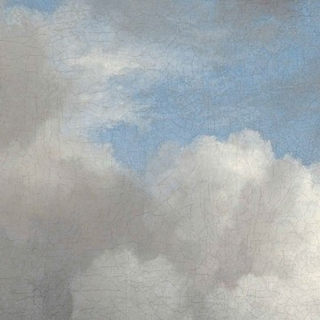 SC-007 Wallpaper Circle Golden Age Clouds