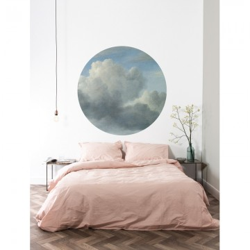 SC-008 Wallpaper Circle Golden Age Clouds