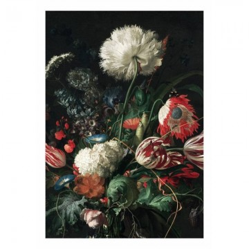WP-200 Wall Mural Golden Age Flowers 1