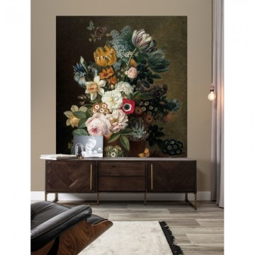 BP-036 Wallpaper Panel XL Golden Age Flowers