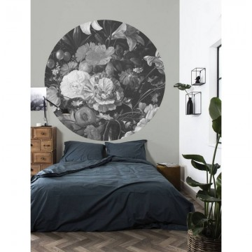 CK-009 Wallpaper Circle Golden Age Flowers