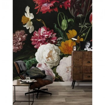 WP-211 Wall Mural Golden Age Flowers 2