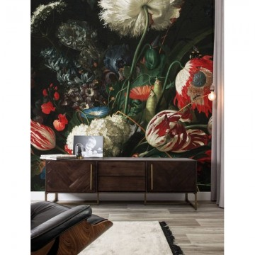 WP-210 Wall Mural Golden Age Flowers 1