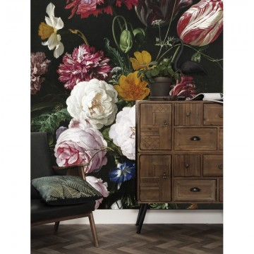 WP-201 Wall Mural Golden Age Flowers 2