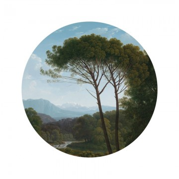 SC-003 Wallpaper Circle Golden Age Landscape