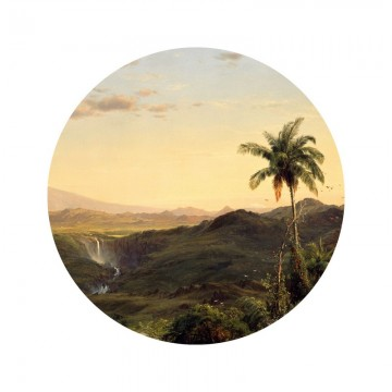 SC-073 Wallpaper Circle Golden Age Landscapes