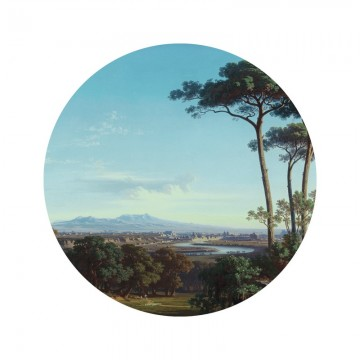 SC-074 Wallpaper Circle Golden Age Landscapes