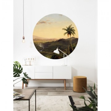CK-073 Wallpaper Circle Golden Age Landscapes