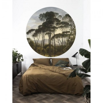 CK-011 Wallpaper Circle Golden Age Landscape