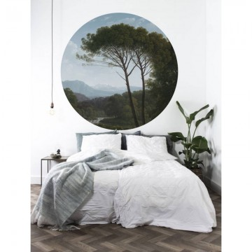 CK-003 Wallpaper Circle Golden Age Landscape