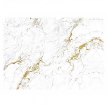 WP-556 Wall Mural Marble, White-Gold
