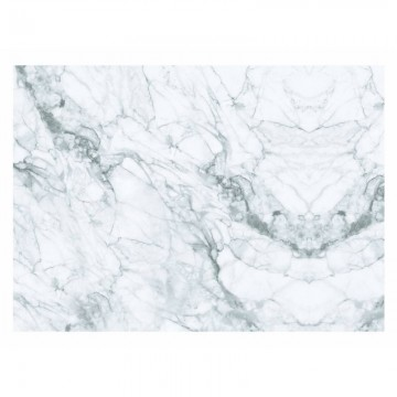 WP-559 Wall Mural Marble, White-Grey
