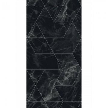 WP-575 Wallpaper Marble Mosaic, Black