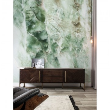 WP-548 Wall Mural Marble, Green