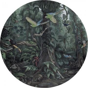 BC-072 Wallpaper Circle XL Tropical Landscapes