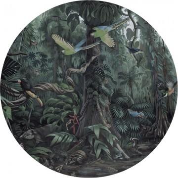 CK-072 Wallpaper Circle Tropical Landscapes
